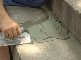 Thin Set Mortar For Porcelain Tile by How To Give A Tile Facelift To An Ordinary Concrete Porch How