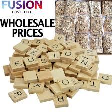 Scrabble Tile Value Change by Wholesale Wooden Scrabble Tiles Wood Black Letters Board Crafts