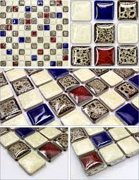 italian porcelain tile backsplash bathroom walls glazed ceramic gm08