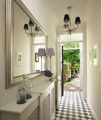 decorate narrow hallway top the delightful images of narrow