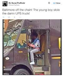 Kid Who Stole A UPS Truck Is The Real MVP Of The Baltimore Riots ... West Pierce Divers Find Stolen Truck In American Lake Sheriff Driver Stolen Truck Flees Deputy Runs Log Off Hits Car Crashes Into Motel Kmir Palm Springs News Arrest Made After Travels From Bryan South To Flea Market Of Dies Shootout With St Petersburg Police Bizarre Vehicle Crash Reported Near Aberdeen Impaled Woman Opens Fire Parking Lot On Occupants Her Pickup Deputies Searching For Press Releases Collier Owner Upset Police Chase That Ended An Thieves Use Smash Langford Gas Station Steal Service Family Business Exeter Kmph Covered Joseph County Lake Fox17