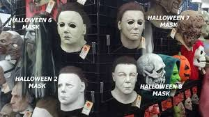 Halloween H20 Mask Uk by Officiel Michael Myers H20 Halloween 7 Latex Collecteurs Masque