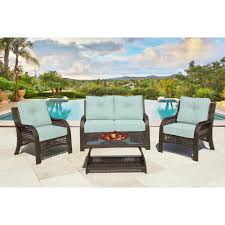4-Piece Chelsea Cappuccino Resin Wicker Patio Loveseat, Chairs & Table  Furniture Set - Kate Sky Cushions Outdoor Wicker Chairs Table Cosco Malmo 4piece Brown Resin Patio Cversation Set With Blue Cushions Panama Pecan Alinum And 4 Pc Cushion Lounge Ding 59 X 33 In Slat Top Suncrown Fniture Glass 3piece Allweather Thick Durable Washable Covers Porch 3pc Chair End Details About Easy Care Two Natural Sorrento 5 Cast Woven Swivel Bar 48 Round Jeco Inc W00501rg Beachcroft 7 Piece By Signature Design Ashley At Becker World Love Seat And Coffee Belham Living Montauk Rocking