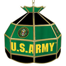 Home Depot Tiffany Style Lamps by Trademark United States Army Symbol 16 In Gold Hanging Tiffany