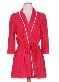 robe de chambre canat femme robes de chambre peignoirs canat femme de couleur en soldes