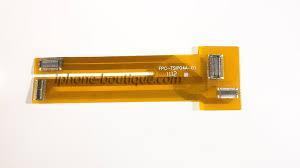 nappe testeur écran lcd tactile pour iphone 4 et 4s