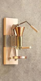Wall Mounted Coffee Makers A Old School Espresso Maker Machine