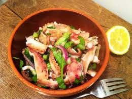 cuisiner poulpe frais salade de poulpe à l italienne insalate di polpo envie de cuisiner