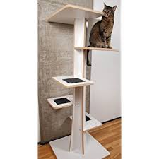 modern cat tower the sebastian modern cat tree in black modern cat