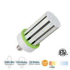 brightstar lcb20we2627k 20w led corn bulb 2600 lumens 2700k