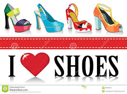 Colorful Fashion Womens Shoes.Fashion Stock Vector - Illustration Of ...