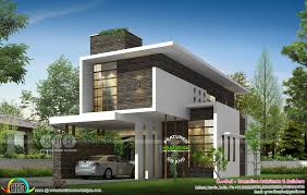 100 Architecture Houses Design 2210 Sqft 3 Bedroom New Generation House Plan In 2019