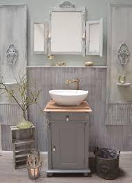 43 vintage bad ideen badmöbel landhaus waschtisch