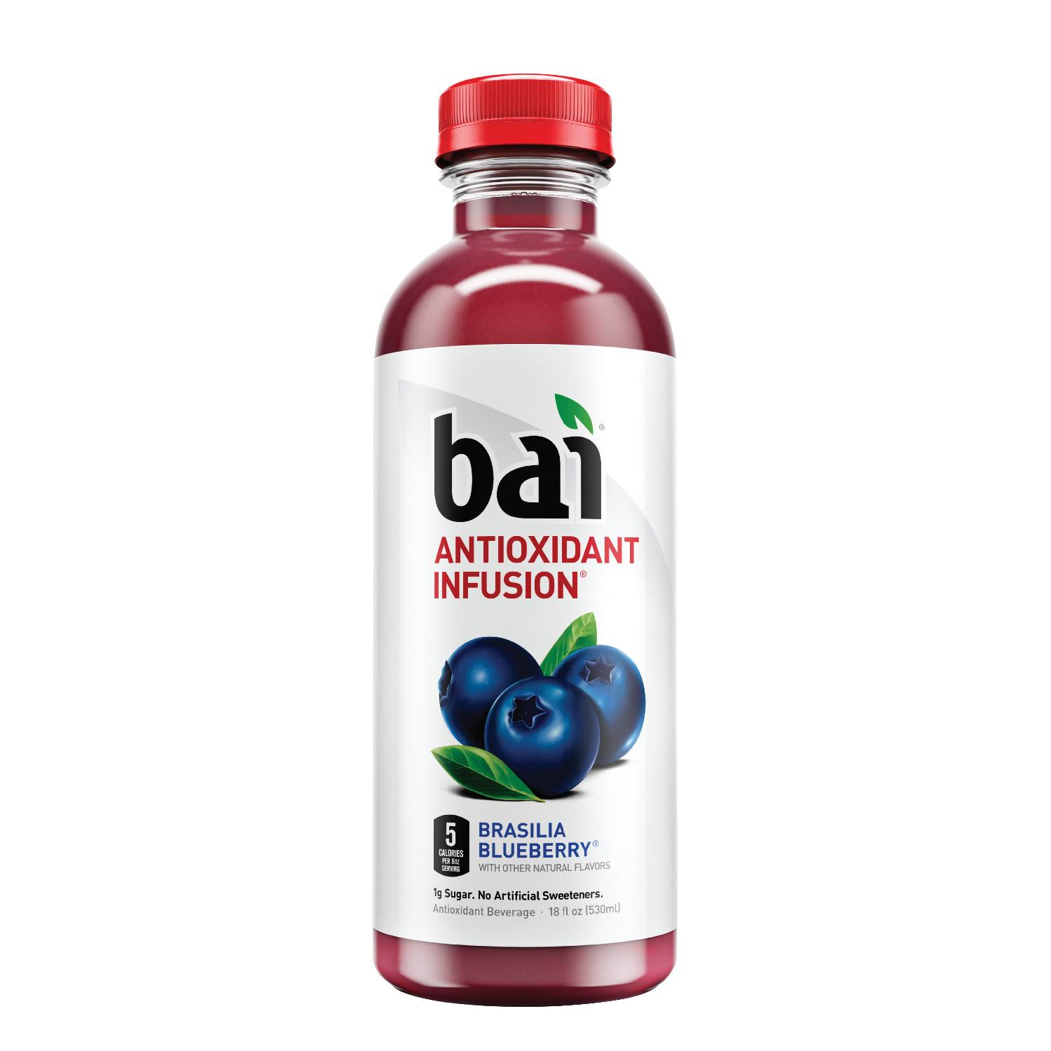 Bai Antioxidant Infusion - Brasilia Blueberry, 530ml