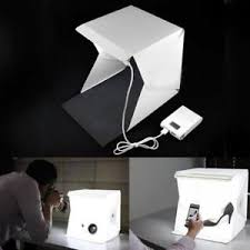 Studio Light Box graphy Backdrop LED Mini Lightroom