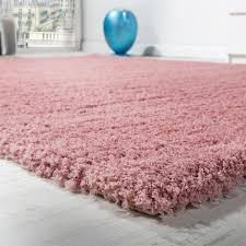 shaggy carpet micro polyester pink