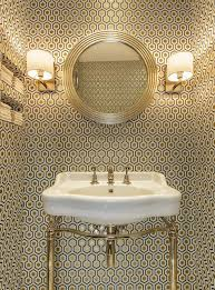 Create A Chic Bathroom With These Trendy Wallpaper Ideas | SA Décor ... Bathroom Wallpapers Inspiration Wallpaper Anthropologie Best Wallpaper Ideas 17 Beautiful Wall Coverings Modern Borders Model Design 1440x1920px For Wallpapersafari Download Small 41 Mariacenourapt 10 Tips Rocking Mounted Golden Glass Mirror Mount Fniture Small Bathroom Ideas For Grey Modern Pinterest 30 Gorgeous Wallpapered Bathrooms