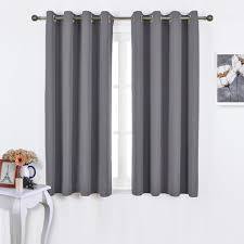 Thermal Curtain Liner Fabric by Amazon Com Nicetown Bedroom Blackout Curtains Panels Window