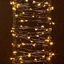 Battery Powered Copper Wire Led String Lights 10 Led Rice Rope