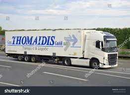 100 Transland Trucking FRANKFURTGERMANYJULY 28 Truck On Freeway On July Stock Photo Edit