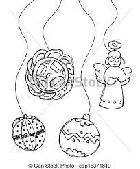 Christmas Decoration Vector Clip Art
