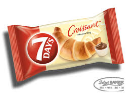 7 DAYS CHOCO CROISSANT 6 PACK Of 60g