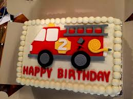 100 Truck Birthday Cakes Fire Cake Pictures Buttercream Firetruck My Baking