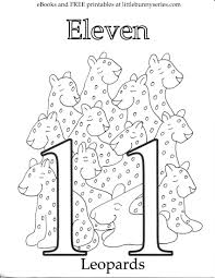 Coloring Pages Little Bunny Series In Number 11 20