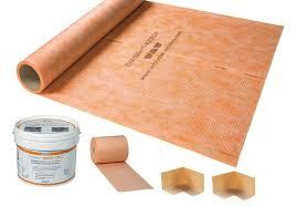 Schluter Tile Trim Uk by Schluter Kerdi Kit 5m2 Ssl Wk 5m Wall Tiles And Floor Tiles
