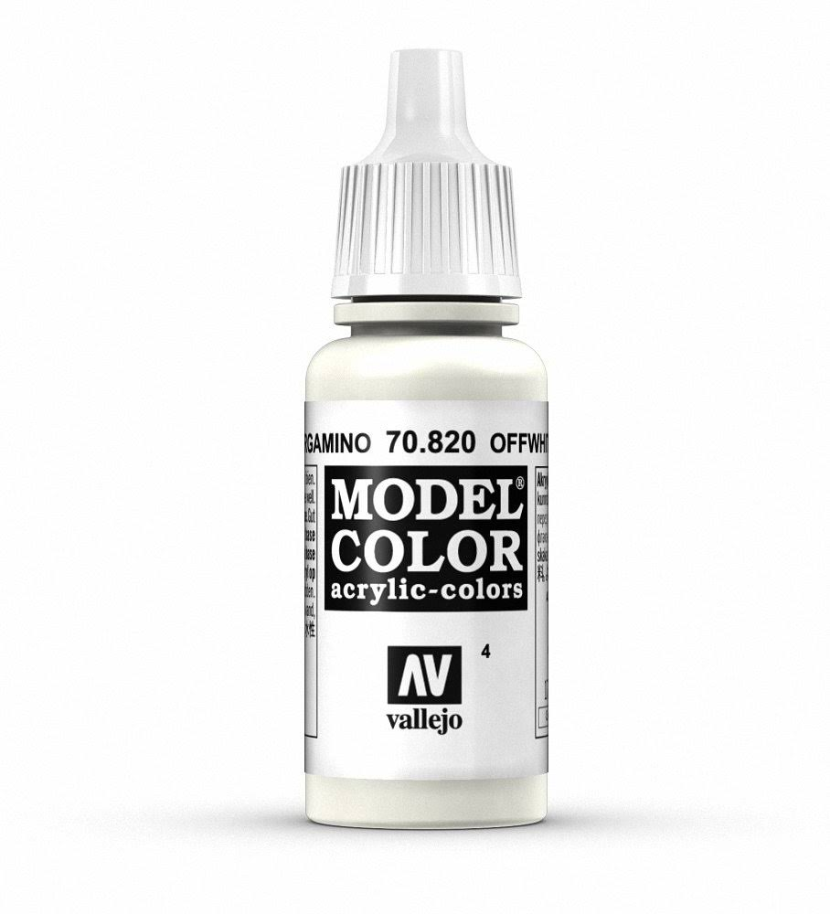 Vallejo Model Color Paint - #4 White