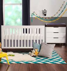 modern babyletto 2 piece nursery set modo 3 in 1 convertible