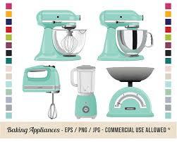 Retro Kitchen Baking Clipart
