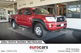 2006 Toyota Tacoma Stock # E17130D For Sale Near Colorado Springs ...