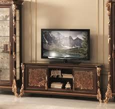 wohnwand kommode rtv sideboard schrank wand barock rokoko design arredoclassic