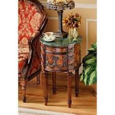 coaster 900973 chairside table warm brown by coaster home