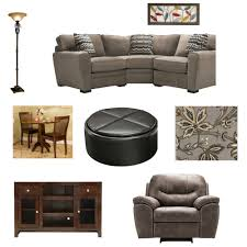 Raymour And Flanigan Grey Sectional Sofa by Small Living Space Design Living Room This Mama Loves