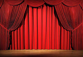 Ikea Sanela Curtains Red by Velvet Curtains In The Living