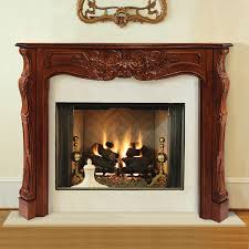 amazon com pearl mantels 490 60 lindon wood 60 inch fireplace