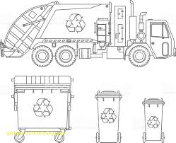 100 Trash Truck Video For Kids Garbage Coloring Pages Colors And Page