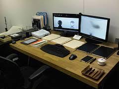 le bureau originale idée originale plateau tournant pour le bureau