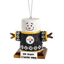 Pittsburgh Steelers Smores Christmas Tree Ornament