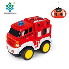 100 Fire Trucks Toys Boys 4ch Red Rc Fighting Truck Buy Toy Metal