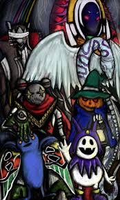 Earthbound Halloween Hack Megalovania by Wysp Get Inspired Practice Improve Your Drawing Skills