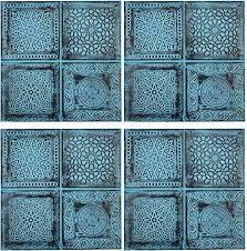 4er set orientalisches wandbild wanddeko sahra 1 30cm aus
