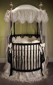 Round Bassinet Bedding by Elegant White Baby Nursery Round Crib Bedding Ideas Babies