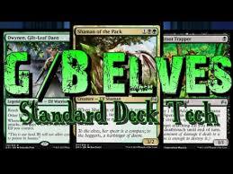 mtg deck standard mtg deck tech g b elves in magic origins standard