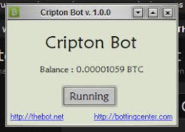 bot cripton bot v 1 0 0 earn free bitcoins