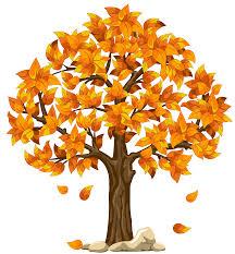 Autumn Tree Clip Art 41