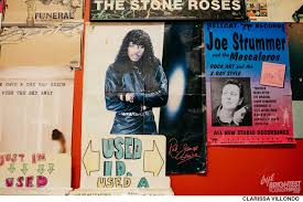 Joe Strummer Mural New York City by Crooked Beat Records Alexandria Brightestyoungthings Dc