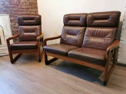 holstebro dyrlund teak design sofa sessel mid century 70er